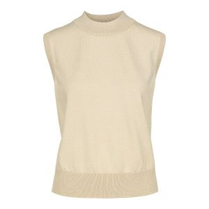 Cate Knitted Vest - Sand