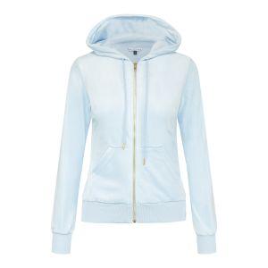 Celine Velour Jacket - Light Blue