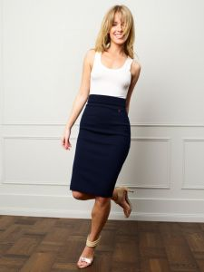 Bellas Hus Lana Strikket Skirt Navy (1)-magento.jpg