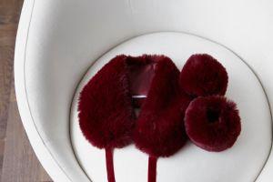 Faux fur krage - Burgunder Bellas Hus-magento.jpg