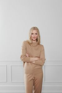 Malena strikket genser - Camel Bellas Hus1-magento.jpg