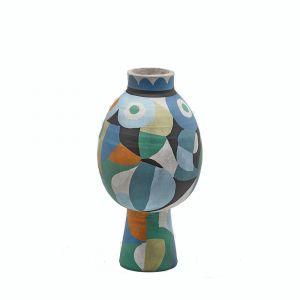 Vaso Fenice Multicolor - 40 cm - Multi