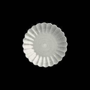 Oyster Tallerken 20cm - Grå