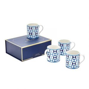 Boxed Sorrento Mugs - Set of 4