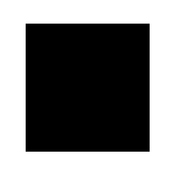 Glossy Brett 33x33 cm - Svart