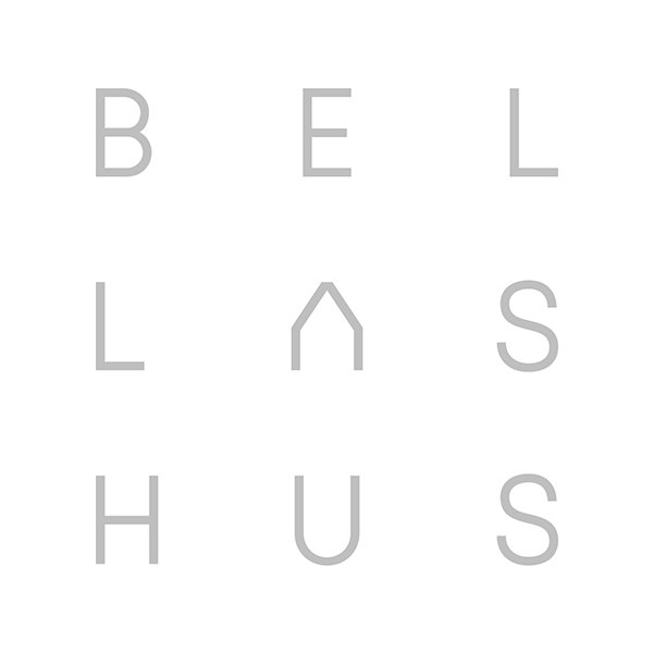 Bellas Hus Wes Vase 19x23 cm - Grå